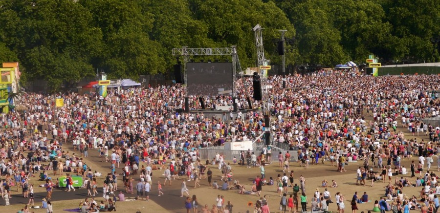 British Summer Time in Royal Hyde Park 7